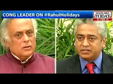 Jairam Ramesh Talks About Rahul Gandhi's Absence, Congress Leadership