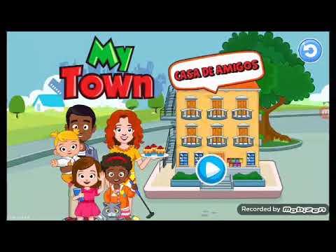 Juego A My Town Casa De Amigos My Town House Friens Anna Mallat
