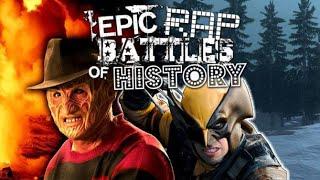 EPIC RAP BATTLES OF HISTORY x FREDDY KRUEGER VS WOLVERINE   REACTION   PLANET BREAKDOWN