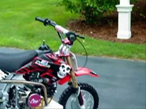 Honda CRF 50 w/ AHP Stage 1 100cc engine & Pro Circuit Exhaust