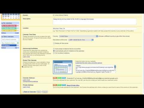 Create Your Syllabus With a Spreadsheet and a Calendar App