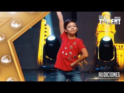 Con 11 años GONZALO enamoró al jurado con su danza contemporánea