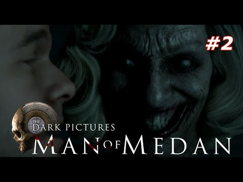 Прохождение The Dark Pictures Anthology: Man of Medan — Часть 2: НОВЫЙ УЖАСТИК! КОРАБЛЬ ПРИЗРАК!