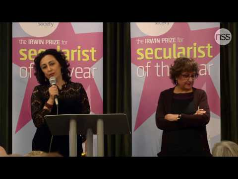 4. Scott Moore and Houzan Mahmoud - Secularist of the Year 2017