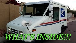 Vehicle TOUR: POST OFFICE DELIVERY TRUCK