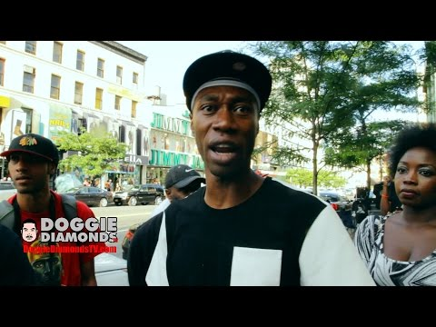 Brother Polight Building In Harlem With Red Pill About Economics (Unreleased 2014)