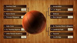 02-26-2015: 2015 BC Senior Girls Basketball Championships Live Draw Show with Howard Tsumura