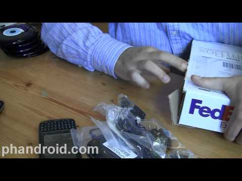Unboxing: Droid Pro, Galaxy Tab, LG Vortex