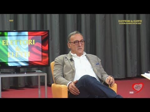 Elettori & Eletti 2020: Antonio Scamarcio, candidato sindaco centrodestra