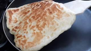 TAVADA  3 Malzemeyle Mayasız YAĞLI KATMER Nasıl Yapılır Tel Tel AYRILAN Peynirli KATMER Tarifi