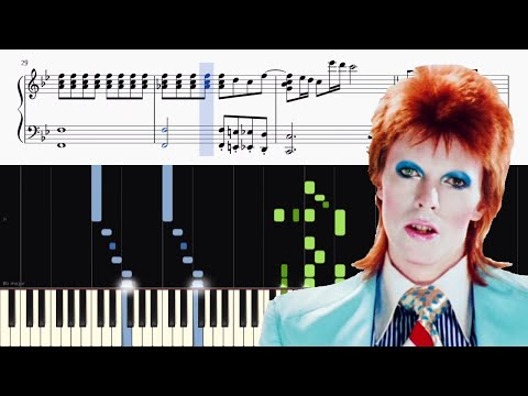 David Bowie - Life On Mars? - Advanced Piano Tutorial + SHEETS