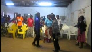 a woman receiving deliverance by prophet d chibwe