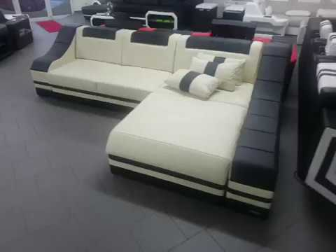Sofa Dreams Ledersofa Turino L Form Wohnlandschaft Youtube
