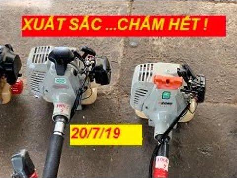 [ MÁY CẮT CỎ XUẤT SẮC ] 20/7/19 Lô 8 máy cắt cỏ chất lừ. Makita, Maru, Echo, Shindaiwa, Mitsubishi.