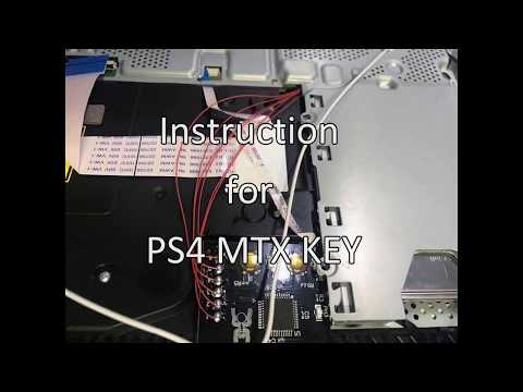 PS4 4 72 - video shows PS4 MTX gamesharing modchip tutorial