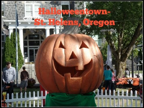 Halloweentown St. Helens, Oregon Family Outing - YouTube
