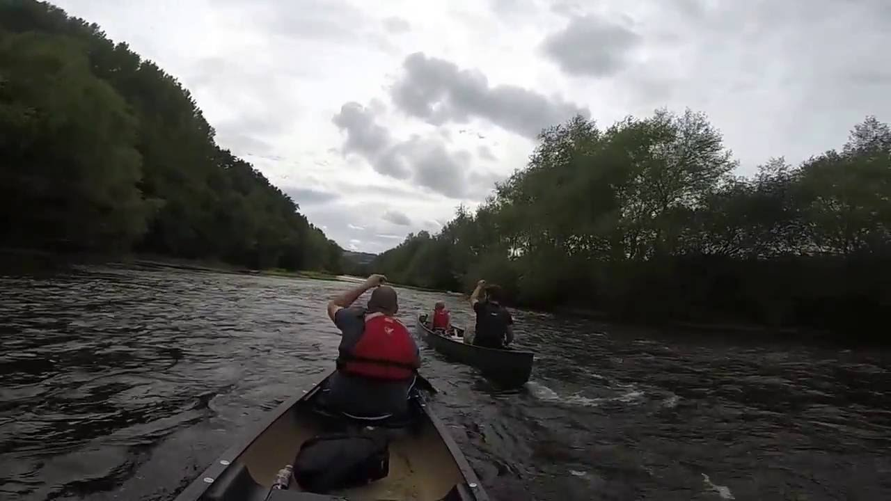Funny Video: GoPro Canoe Fail
