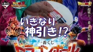 DB 一番くじ ドラゴンボール ULTIMATE EVOLUTION With ドラゴンボールZ ドッカンバトル 神引きか!?進化ベジータ、ベジットがほしい!!