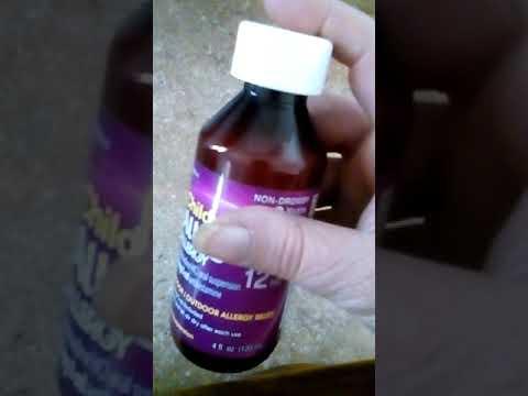 Children Allegra Allergy liquid medicine review
