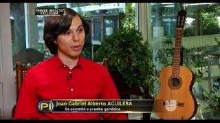 PRIMER IMPACTO HACE PRUEBA DE ADN A Joao Gabriel Alberto Aguilera