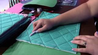 Mulher.com 22/01/2015 Bolsa em patchwork por Regina Heitor Parte 1