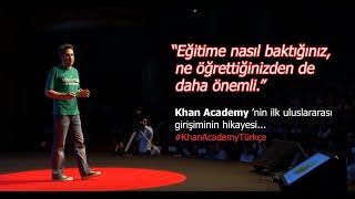 Khan Academy Türkçe Direktörü Alp Köksal'ın TED Talks Konuşması (TEDxReset 2015)