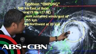 WATCH: Signal no. 3 raised in more areas as Ompong nears
