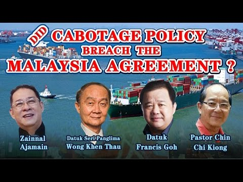 Did Cabotage Policy breach Malaysia Agreement? - intro