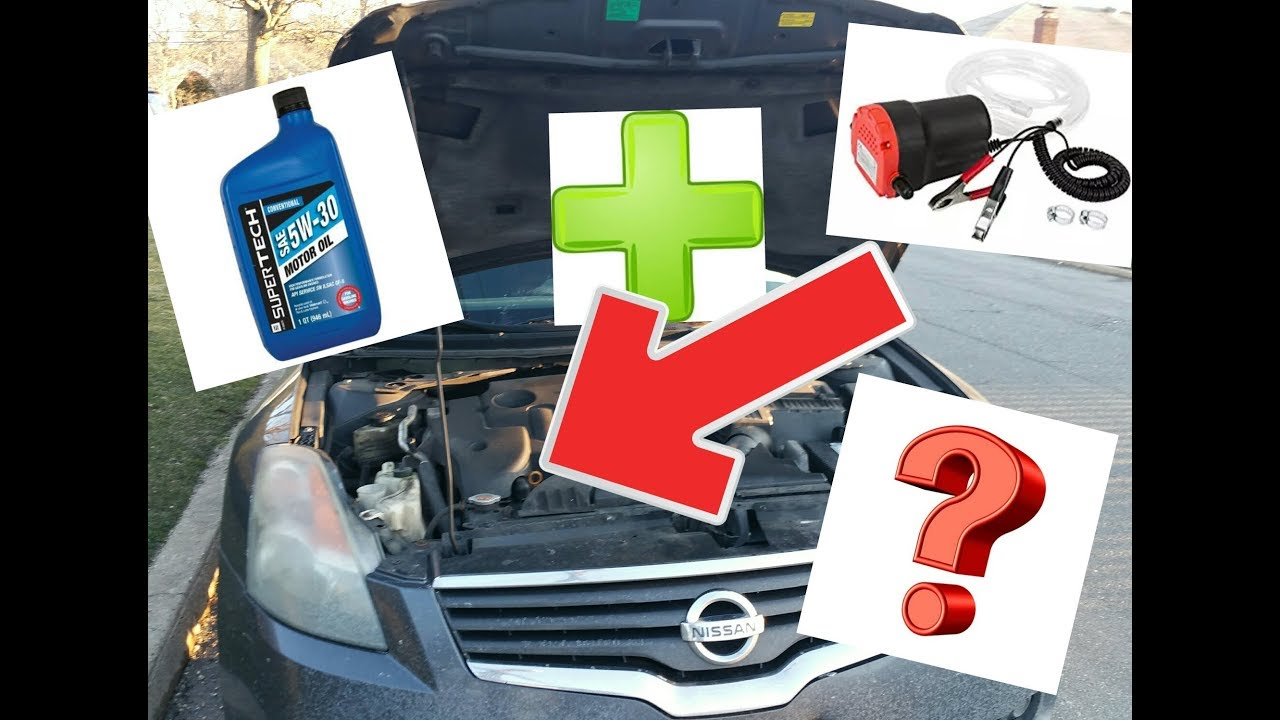 2008 Nissan Altima Changing Engine Oil From The Top Extraction Win Or Fail