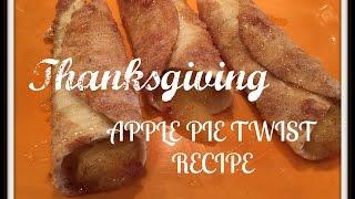 Thanksgiving Apple Pie TWIST!!! Recipe