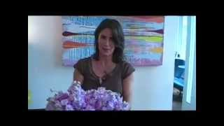 How To Make Simple Modern Flower Arrangements With Fragrant Flowers - Hyacinths By Iris Rosin