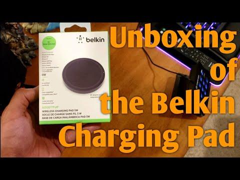Belkin Boost Wireless Charging Pad : UNBOXING!