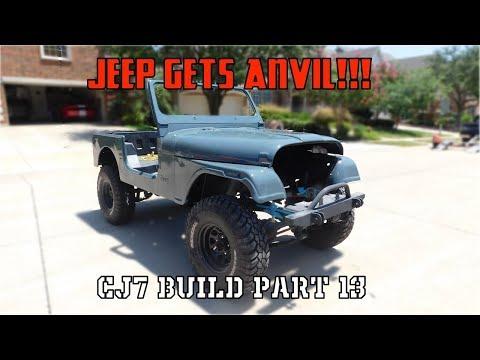 CJ Gets Paint! | Jeep CJ7 Build Part 13