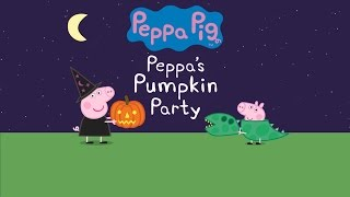 Peppa's Pumpkin Party - Animated Peppa Pig Story