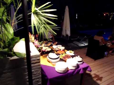 Full moon dinner party on Thursday night @ Sea Sun Sand Resort and Spa