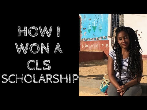 How I Won A CLS Scholarship - Critical Language Scholarship Program \\ My Tips!