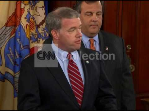 NJ:CHRISTIE INTRODUCES ATTY GEN AS INTERIM SENATOR