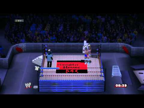 D4E Heavy Metal Mayhem Match Snazzy Harbor vs Dexal King Barbaric Championship Xbox Live WWE2K14
