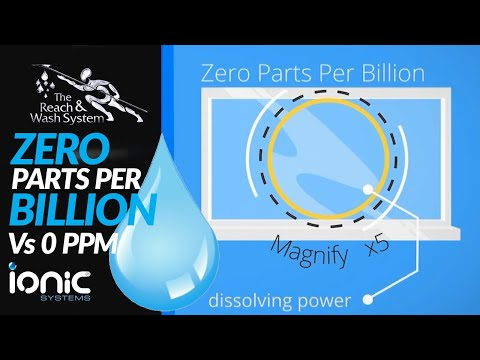 Ionic Systems Zero Parts Per Billion Explained