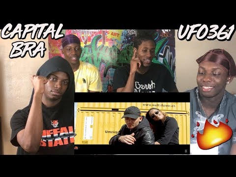 CAPITAL BRA feat. UFO361 - NEYMAR (PROD. THE CRATEZ & YOUNG TAYLOR) - REACTION