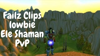 Failz Clips - Vanilla WoW Northdale Ele Shaman 40+ World PvP -
