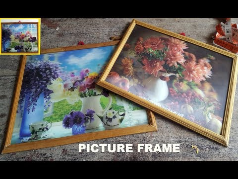 Picture frame | How to make picture frame at home  | photo frame