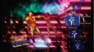 Dance Central - Crank That (Soulja Boy) Hard, 100%, 5 gold stars, #1 on leaderboards!