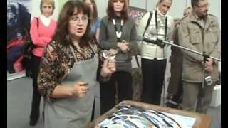 Мастер-класс Наталья Баженова Russian Art Week