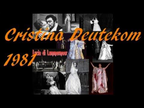 Cristina Deutekom - Lucia di Lammermoor - Donizetti (live 1981)