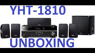 Unboxing: Home Theater Yamaha YHT-1810