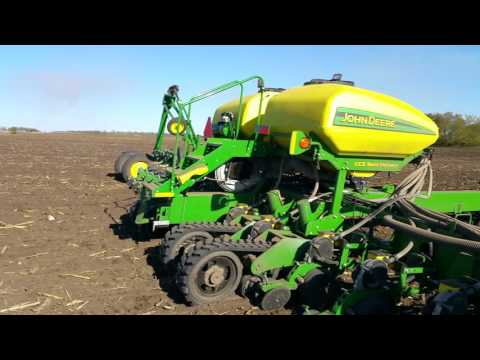 How the corn planter works