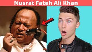 VOCAL COACH Justin Reacts to Legendary Ustad Nusrat Fateh Ali Khan