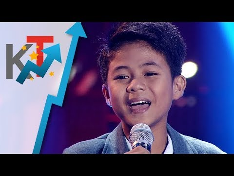 Vanjoss Bayaban - Power Of Love | The Voice Kids Philippines Season 4