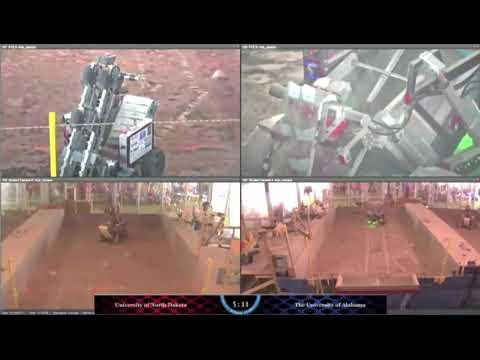 Alabama Astrobotics NASA RMC 2018 run 2